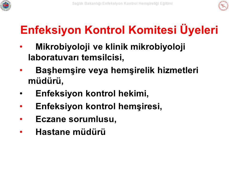 Sağlık Bakanlığı Enfeksiyon Kontrol Hemşireliği Eğitimi EKK'nın Görev, Yetki ve Sorumlulukları