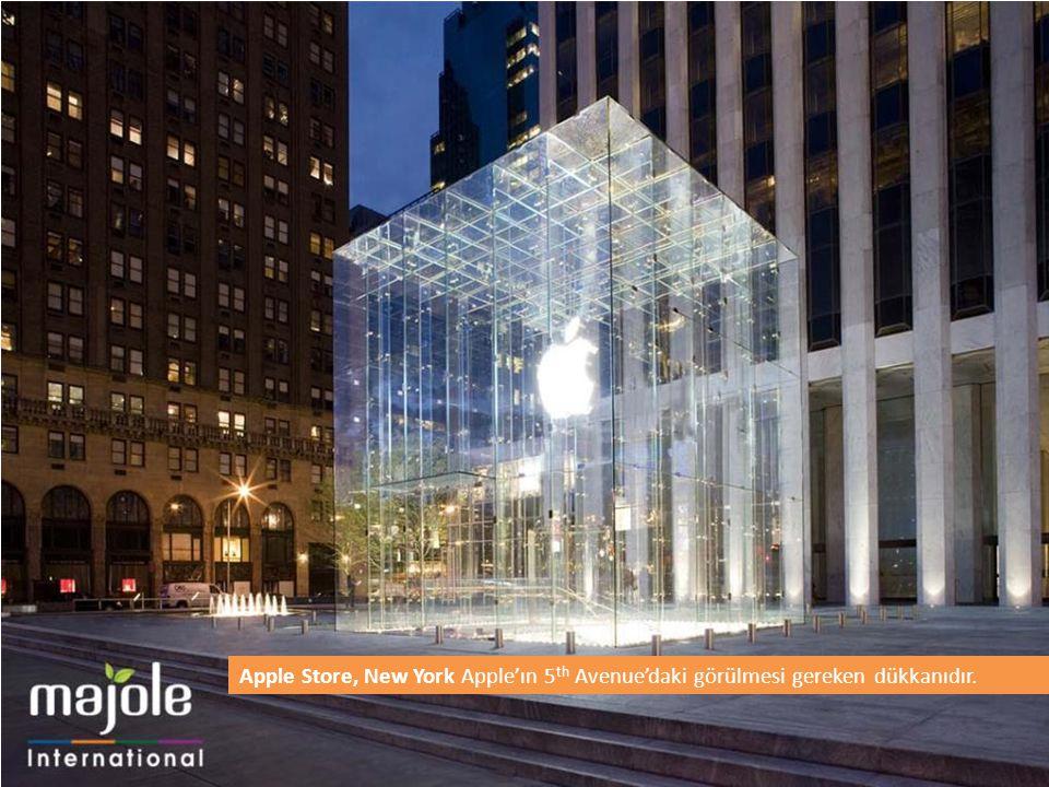 Apple Store, New York Apple'ın 5 th Avenue'daki görülmesi gereken dükkanıdır.