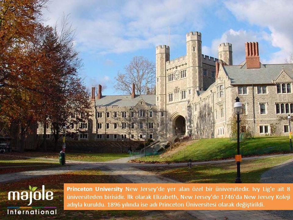 Princeton University New Jersey de yer alan özel bir üniversitedir.