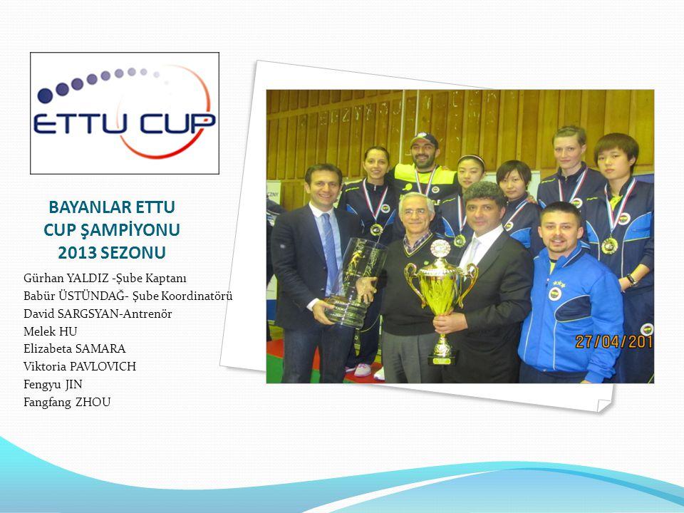 OLİMPİK DERECELER Melek HU İkince Kez Olimpiyat Oyunlarında Yarıştı 2012 Melek HU Türk Masa Tenisinde İlk Olimpik Bayan Sporcumuz 2008 Cem ZENG Türk Masa Tenisinde İlk Olimpik Erkek Sporcumuz 2008