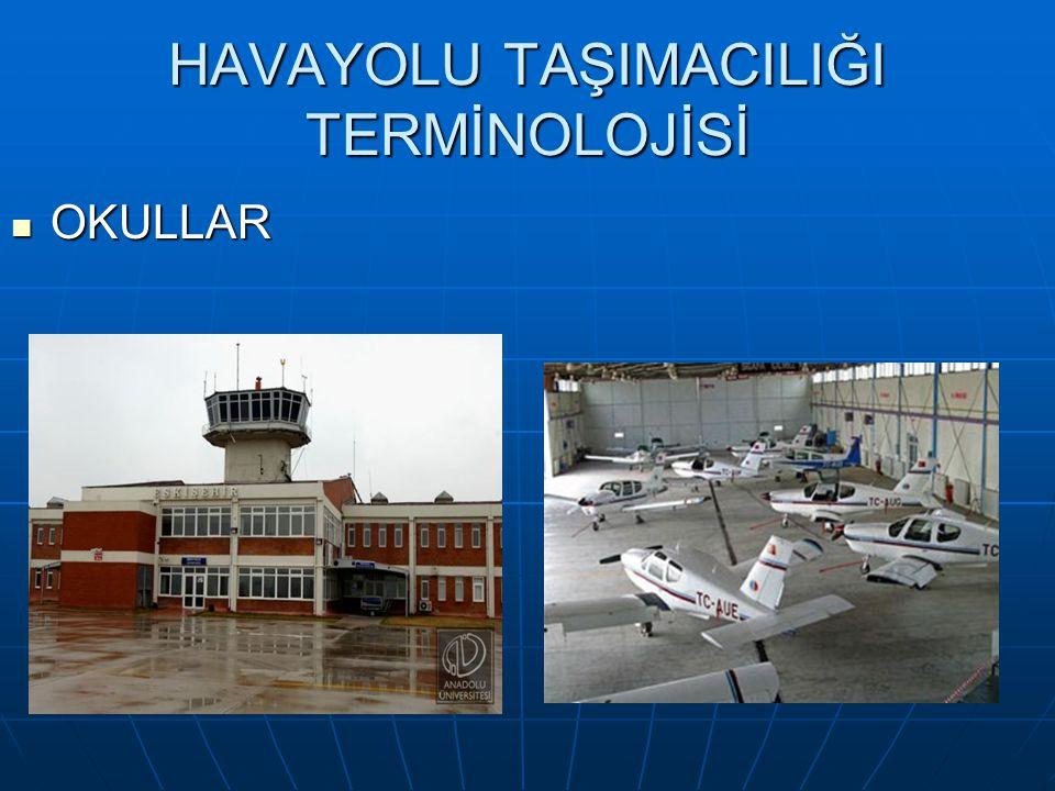 HAVAYOLU TAŞIMACILIĞI TERMİNOLOJİSİ Kabin Memuru Kabin Memuru Uçaklarda yolcularla ilgilenen ve yolcuların uçakta rahat bir yolculuk geçirmelerini sağlayan uçak personelidir.