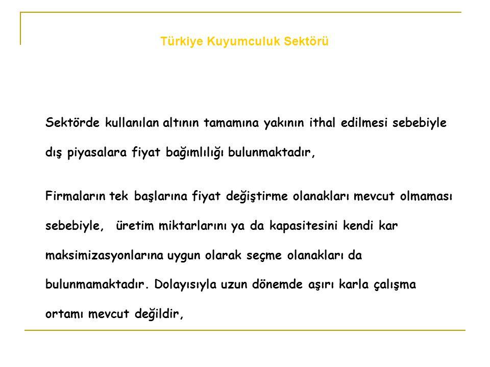 İhracat Bedellerinin Altınla Ödenmesi: İhracatçımız, Türkiye'de bankasına peşin döviz getirebilmekte, bu dövizi kullanarak ürettiği malını ihraç ederek, peşin döviz hesabını kapatabilmektedir.