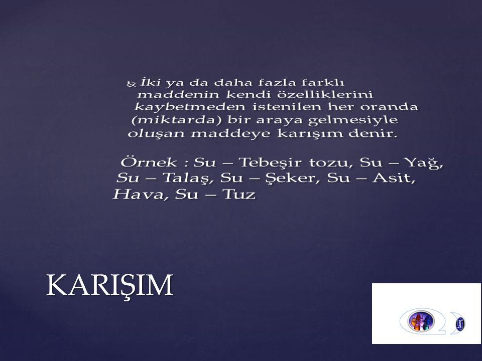 KARIŞIM