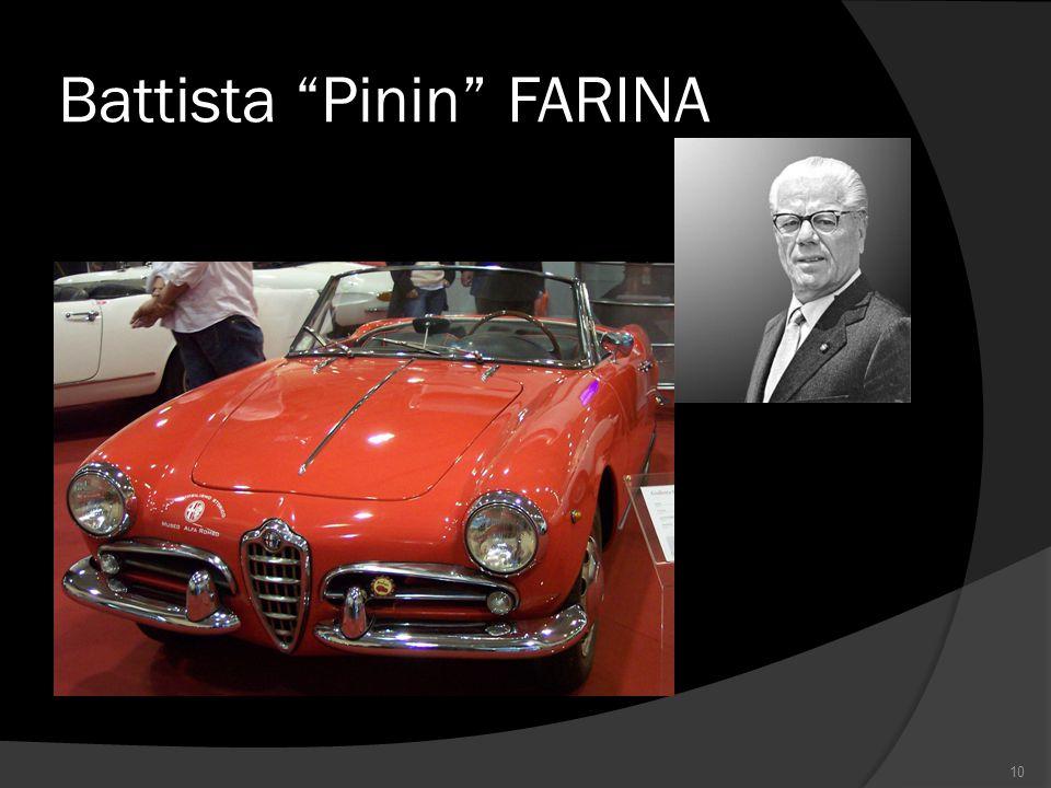 """Battista """"Pinin"""" FARINA 10"""