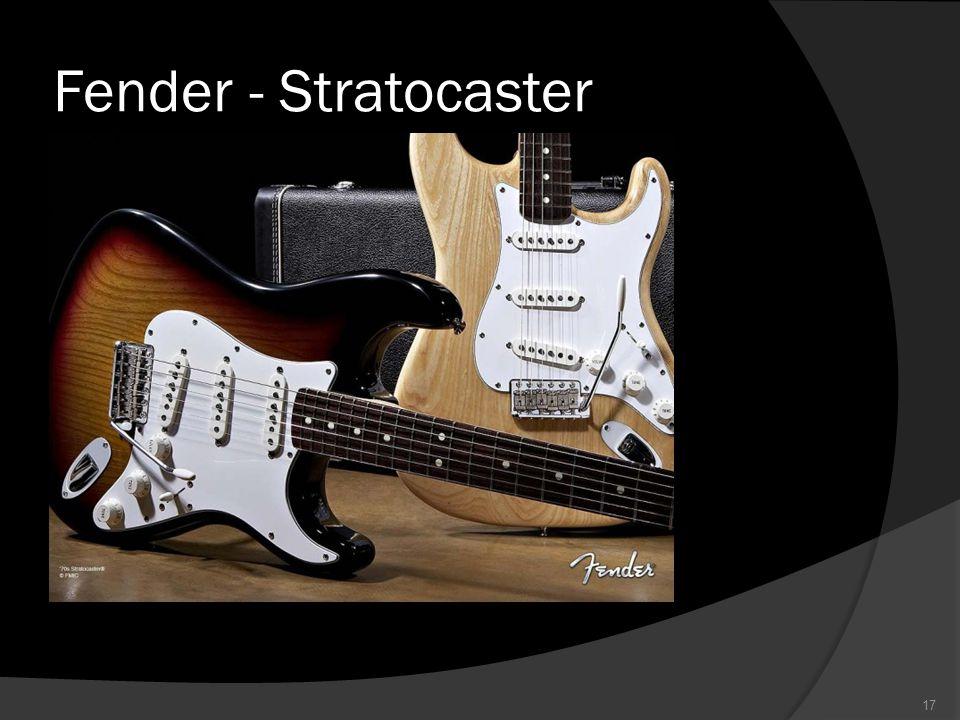 Fender - Stratocaster 17