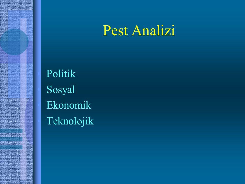 Pest Analizi Politik Sosyal Ekonomik Teknolojik