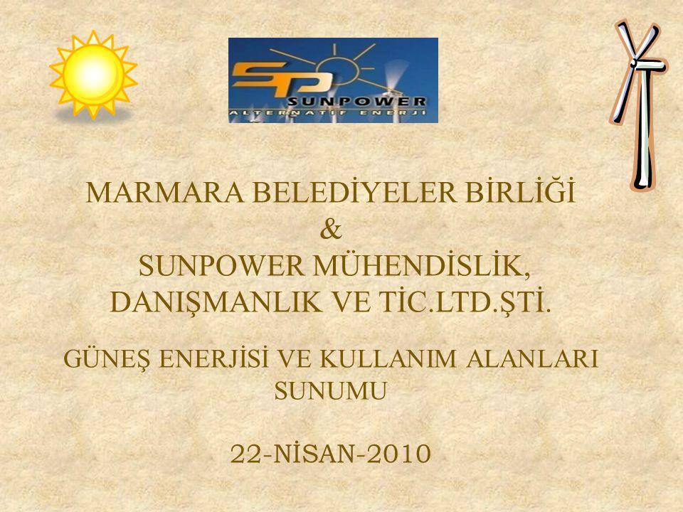 MARMARA BELEDİYELER BİRLİĞİ & SUNPOWER MÜHENDİSLİK, DANIŞMANLIK VE TİC.LTD.ŞTİ.