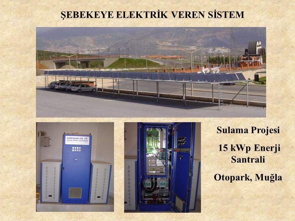 ŞEBEKEYE ELEKTRİK VEREN SİSTEM 26 kWp Enerji Santrali Türk Evi, Muğla