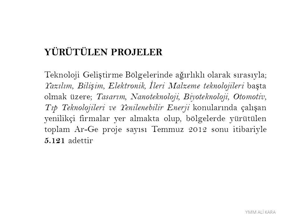 YMM ALİ KARA DAMGA VERG İ S İ İ ST İ SNASI Kanun kapsamındaki her türlü Ar-Ge ve yenilik faaliyetleriyle ilgili olarak düzenlenen kâ ğ ıtlar damga vergisinden müstesnadır.