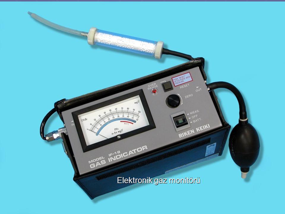 Elektronik gaz monitörü