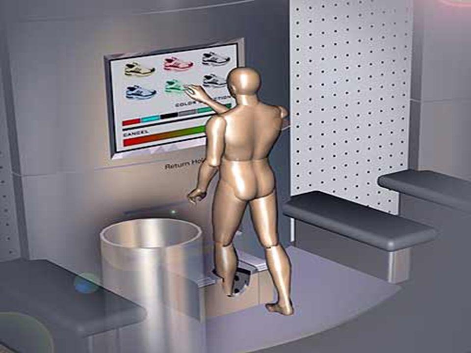 Geleceğin Ofisi (Yarı-Mobil Ofis) Blue Space:  Bilgisayar ekranına çok yakın yerleştirilen bu dokunmatik ekran, kullanıcıların kendi fiziksel ve fiili çevrelerini kontrol altında tutmalarını sağlar.