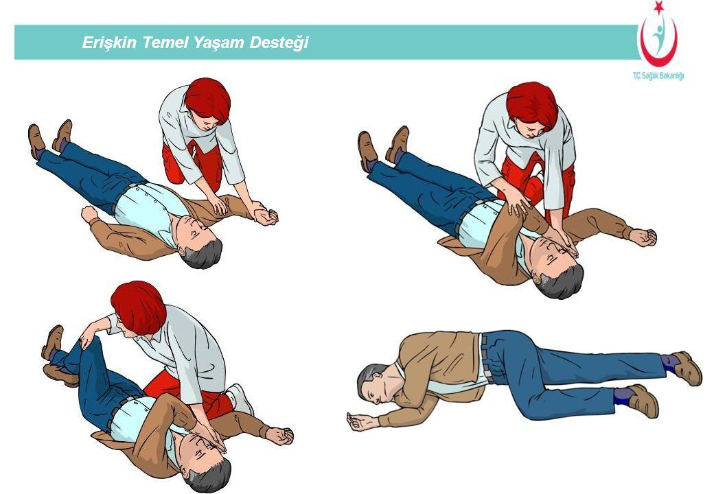 Hastayı supin pozisyona getirin, kendi tarafınızdaki kolunu abdüksyona, dirseği 90 derece fleksiyona getirin,