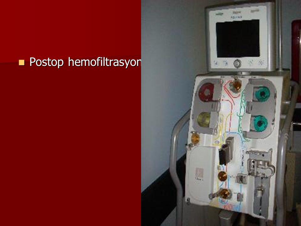 Postop hemofiltrasyon Postop hemofiltrasyon