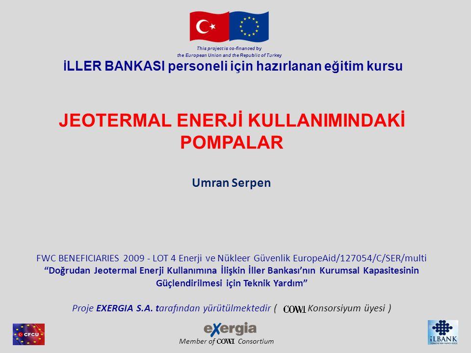 Member of Consortium This project is co-financed by the European Union and the Republic of Turkey Rezervuar basıncı değişimi Stabilize olmuş kuyu dibi basıncı, rezervuardan çıkartılan net akışkana(üretim eksi reenjeksiyon),doğal yeni doluma, kuyunun lokasyonuna bağlı olacaktır.