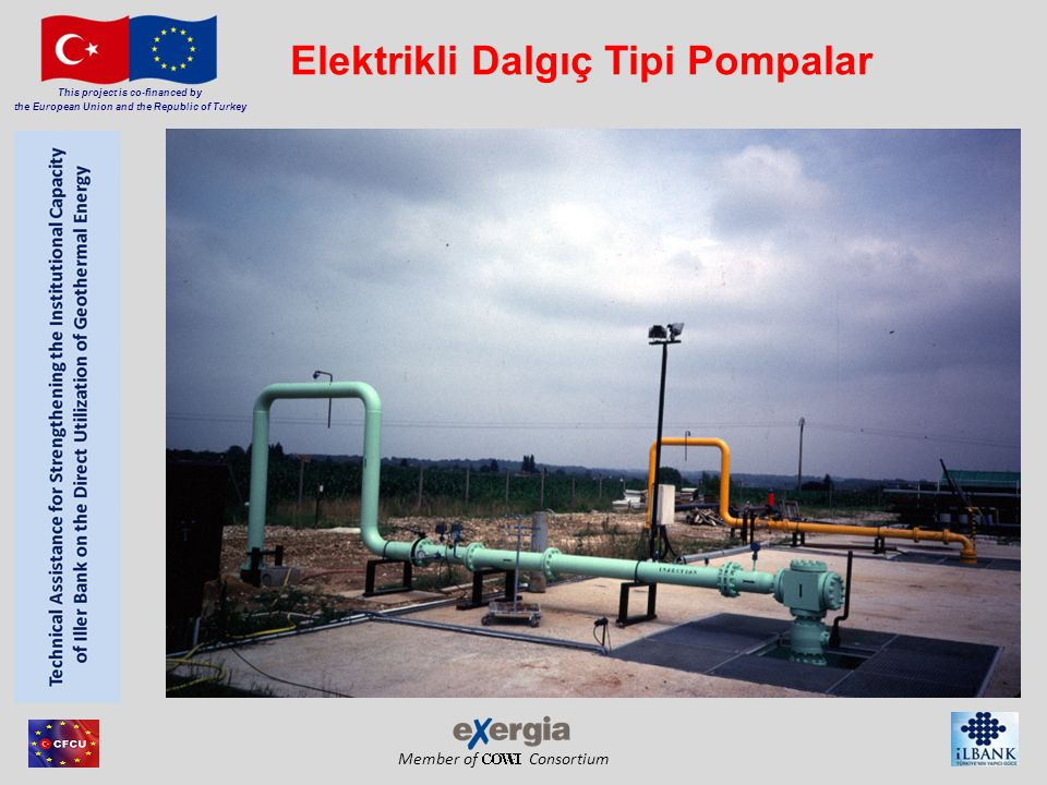 Member of Consortium This project is co-financed by the European Union and the Republic of Turkey Elektrikli Dalgıç Tipi Pompalar