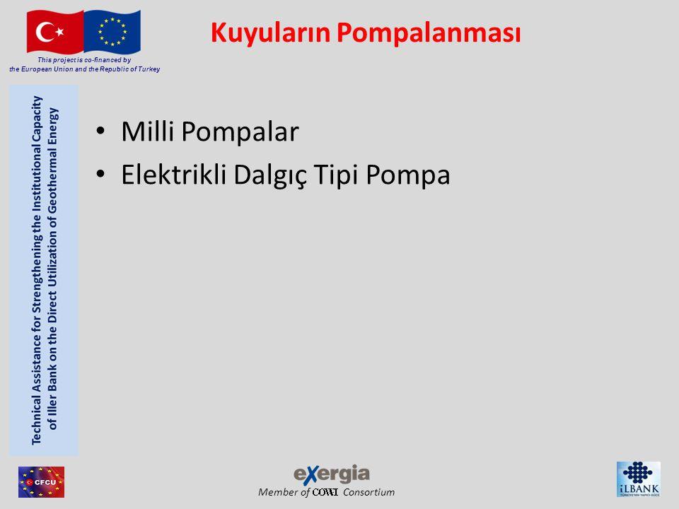 Member of Consortium This project is co-financed by the European Union and the Republic of Turkey Ayrışma Basınç Etkileri Jeotermal rezervuar akışkanı her zaman sıvı su (kaynama durumunun olmaması) olarak düşünülür.