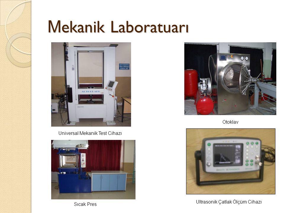 M ekanik Laboratuarı Universal Mekanik Test Cihazı Ultrasonik Çatlak Ölçüm Cihazı Otoklav Sıcak Pres
