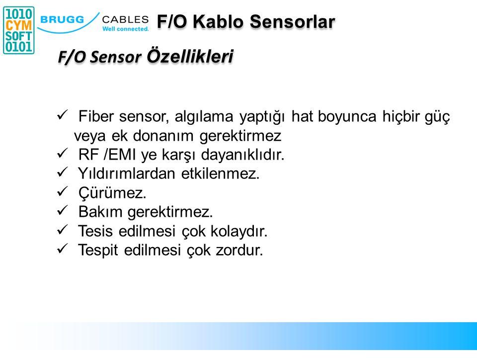 Fiber sensor, algılama yaptığı hat boyunca hiçbir güç veya ek donanım gerektirmez RF /EMI ye karşı dayanıklıdır. Yıldırımlardan etkilenmez. Çürümez. B