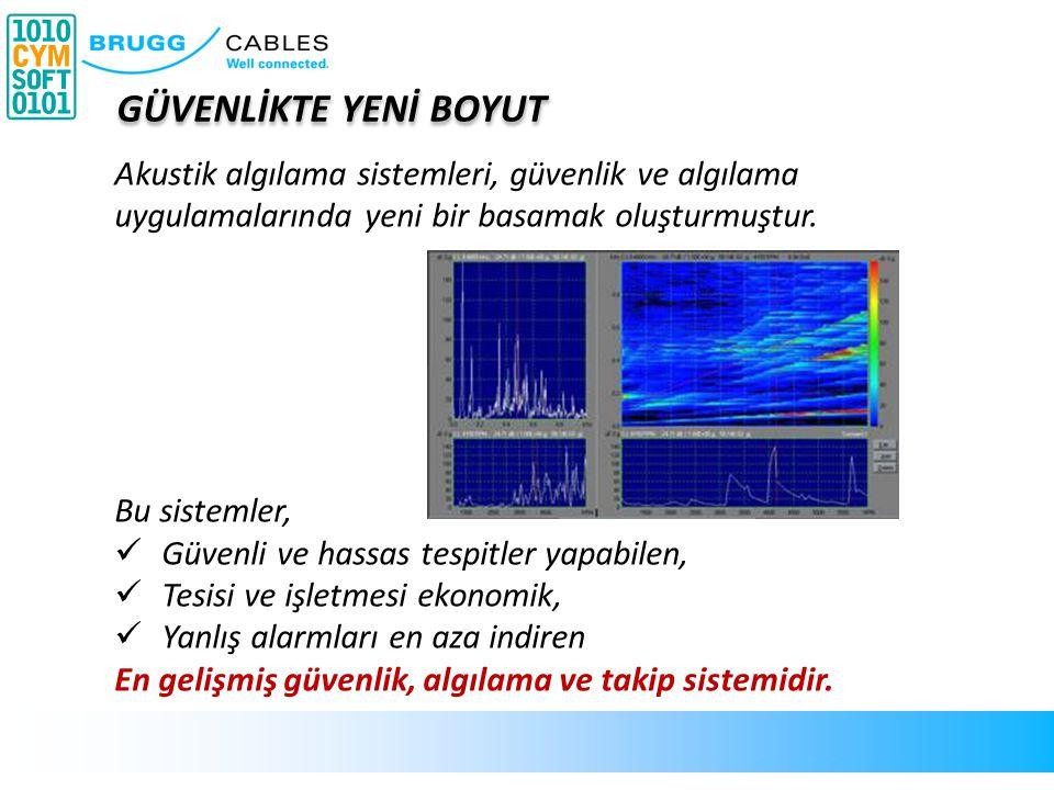Yeraltına döşenmiş fiberoptik kablo ile bir insan yürüyüşünü, kablonun her iki yanındaki 5-10 metrelik alanda tespit edebilmek mümkündür.