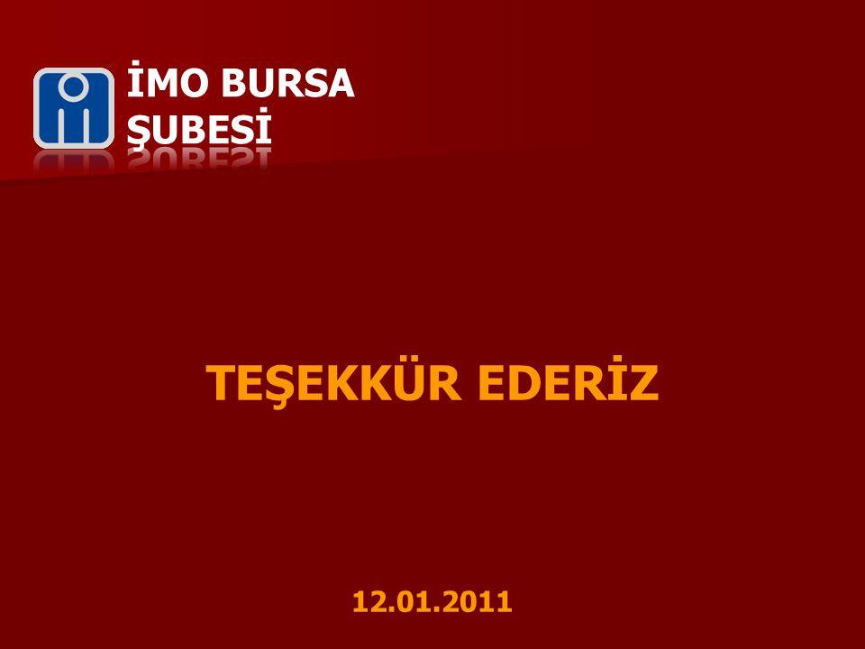 TEŞEKKÜR EDERİZ 12.01.2011