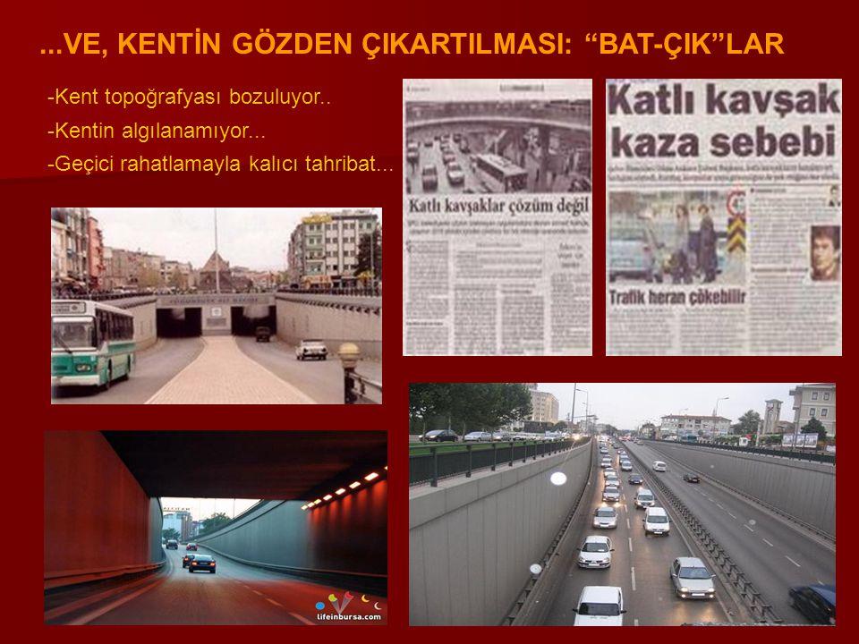 BURSA ULAŞTIRMA ETÜTLERİ VE ARAZİ KULLANIMI BİLGİLERİ BURSA ULAŞTIRMA ETÜTLERİ VE ARAZİ KULLANIMI BİLGİLERİ Bursa'da yapılmış ulaştırma etütleri (Kaynak : Musa Özalp, Ebru Vesile Öcalır, Türkiye'deki Kent içi Ulaştırma Planlaması Çalışmalarının Değerlendirilmesi) Bursa'da yapılmış ulaştırma etütleri (Kaynak : Musa Özalp, Ebru Vesile Öcalır, Türkiye'deki Kent içi Ulaştırma Planlaması Çalışmalarının Değerlendirilmesi) 1.Ulaşım Master Planı (1987) 2.Kentiçi ve Yakın Çevre Ulaşım Master Planı (2001) 3.Kentiçi Toplu Taşım Etüdü (1994) 4.Kentsel Gelişme Projesi (1997) 5.HRS Fizibilite Etüdü (1986) 6.HRS Sistem Planı ve Ulaşım Planlama Programı (2001)