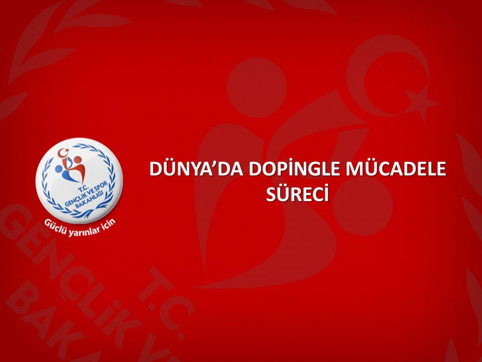 Sportif Değerlendirme ve Geliştirme Kurulu Yönetmeliğinde Düzenleme; Bu düzenleme 14.10.2013 tarihli ve 28795 sayılı Resmi Gazetede yayımlanarak yürürlüğe girmiştir.