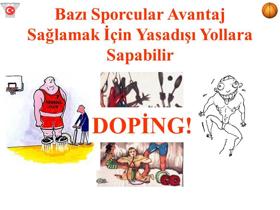 Doping: 1.Sportif performansı arttırma potansiyeli ve aşağıdakilerden biridir; 2.