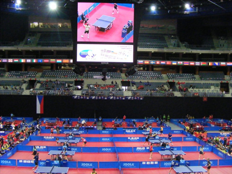 Akdeniz Oyunları Masa Tenisi branşında Akdeniz Oyunları; Olimpiyatlarla aynı oyun sistemi ile Takım ve Ferdi olarak düzenlenmektedir.