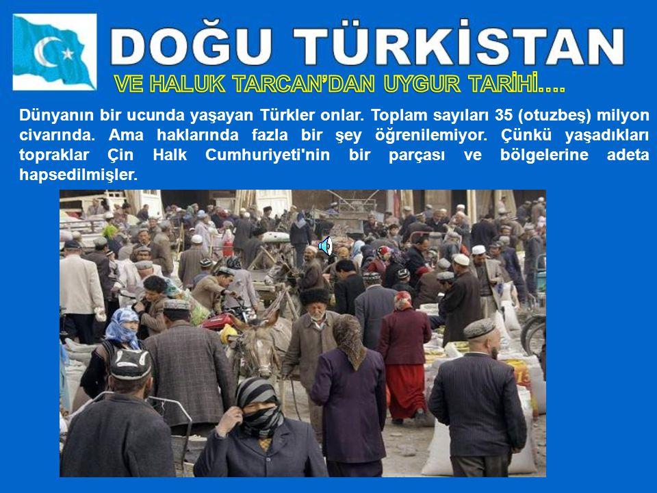 Dünyanın bir ucunda yaşayan Türkler onlar.Toplam sayıları 35 (otuzbeş) milyon civarında.