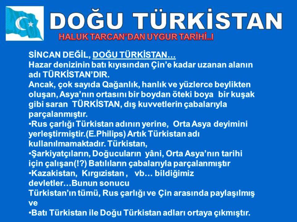 Dünyanın bir ucunda yaşayan Türkler onlar. Toplam sayıları 35 (otuzbeş) milyon civarında.