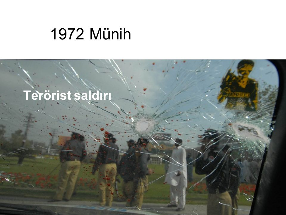 1972 Münih Terörist saldırı