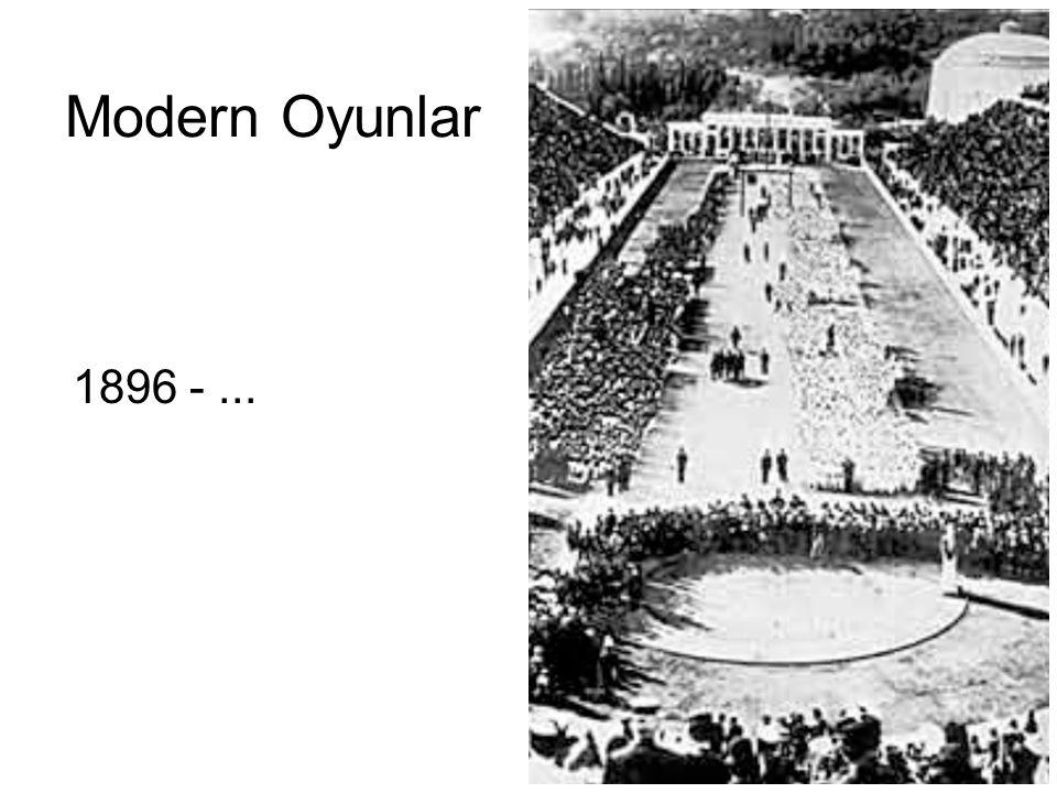 Modern Oyunlar 1896 -...