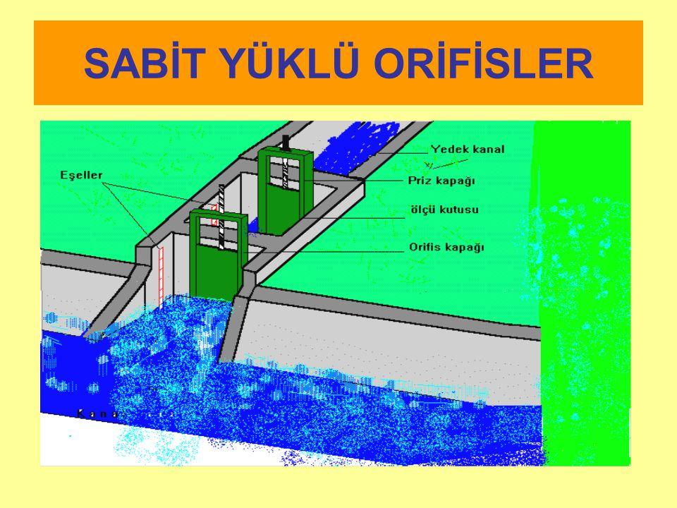 SABİT YÜKLÜ ORİFİSLER
