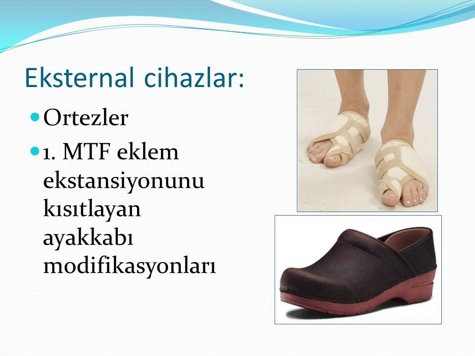 Tekrar yaralanmayı önleme k için öneriler Hastaya uygun egzersiz, germe ve buz uygulamasını öner Arkası açık ayakkabı ya da daha uygun ayakkabı giymek etkilenmiş bölgeye binen basıncı azaltır.
