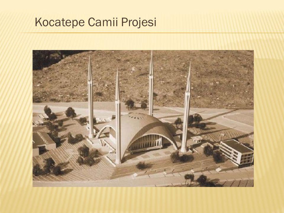 Kocatepe Camii Projesi