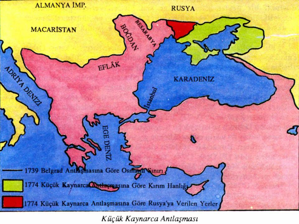  Yapılan savaşlarda Osmanlı Devleti başarılı olamadı. Ruslar kısa sürede Eflak ve Boğdan'ı ele geçirdi. Kırım'ı işgal etti. Rus donanması Baltık deni