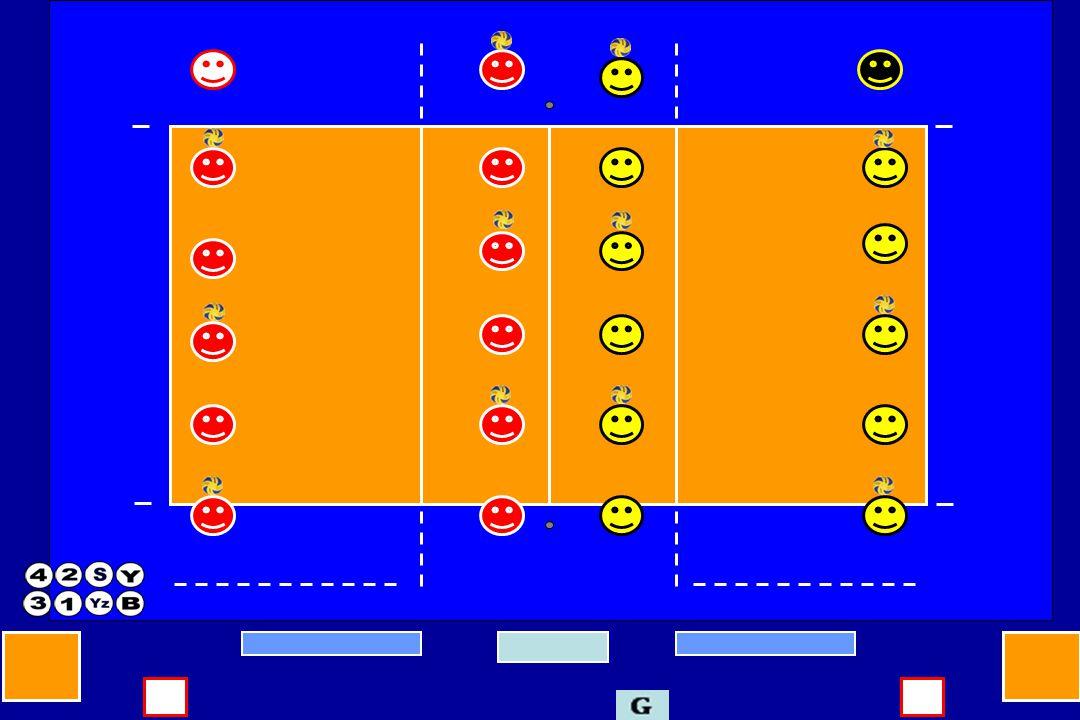 Yardımcı hakem set başlangıç oyuncuları, libero ve koçların tanıtımı yapılırken set başlangıç diziliş cetvelinden oyuncuların forma numaralarını kontrol eder.
