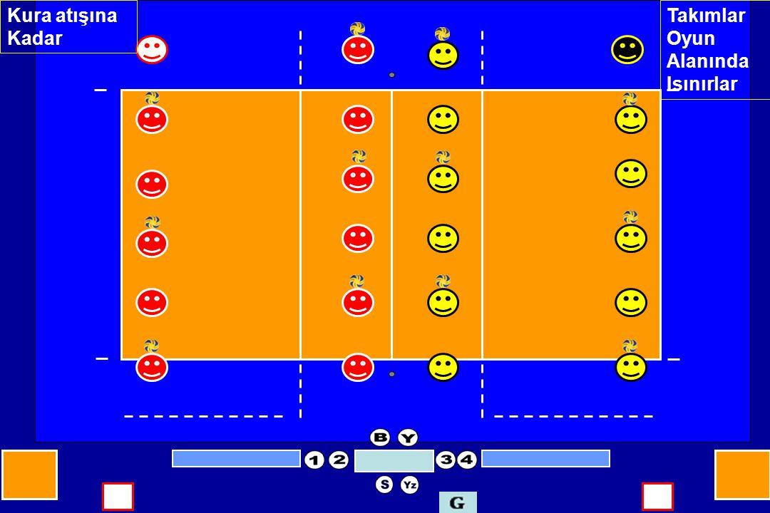 Yazı hakemi, diziliş cetvellerinde yazılan numaraların, müsabaka cetveli takım listesindeki oyuncu numaralarıyla, uygunluk sağlayıp sağlamadığını kontrol eder.