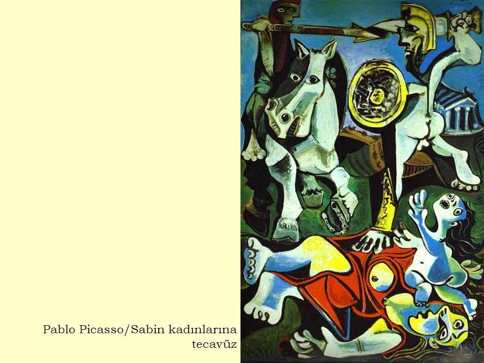 Pablo Picasso/Sabin kadınlarına tecavüz