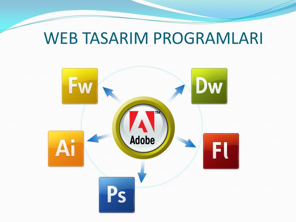 WEB TASARIM PROGRAMLARI