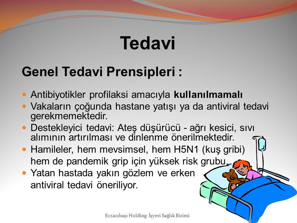 Tedavi Genel Tedavi Prensipleri : Antibiyotikler profilaksi amacıyla kullanılmamalı Vakaların çoğunda hastane yatışı ya da antiviral tedavi gerekmemektedir.