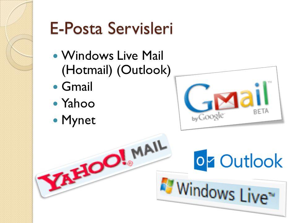 E-Posta Hangi Amaçla Kullanılır.