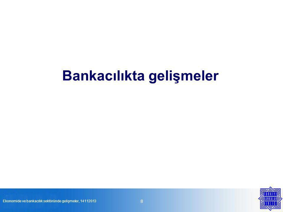 19 Teşekkür ederiz. Ekonomide ve bankacılık sektöründe gelişmeler, 14112013