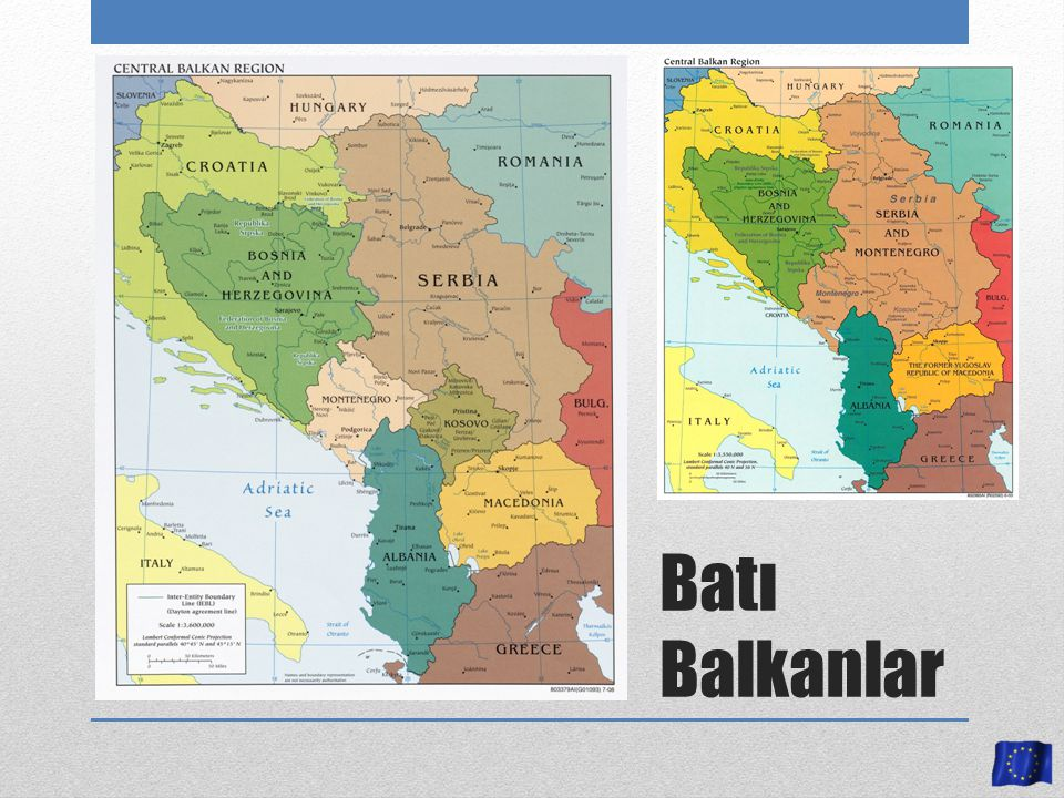 STABILISATION AND ASSOCIATION AGREEMENT 2001 Makedonya 2007 Karadağ 2006 Arnavutluk Sırbistan Bosna Hersek