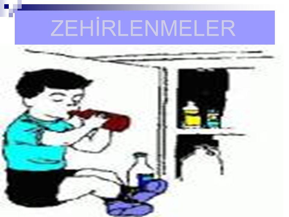 ZEHİRLENMELER