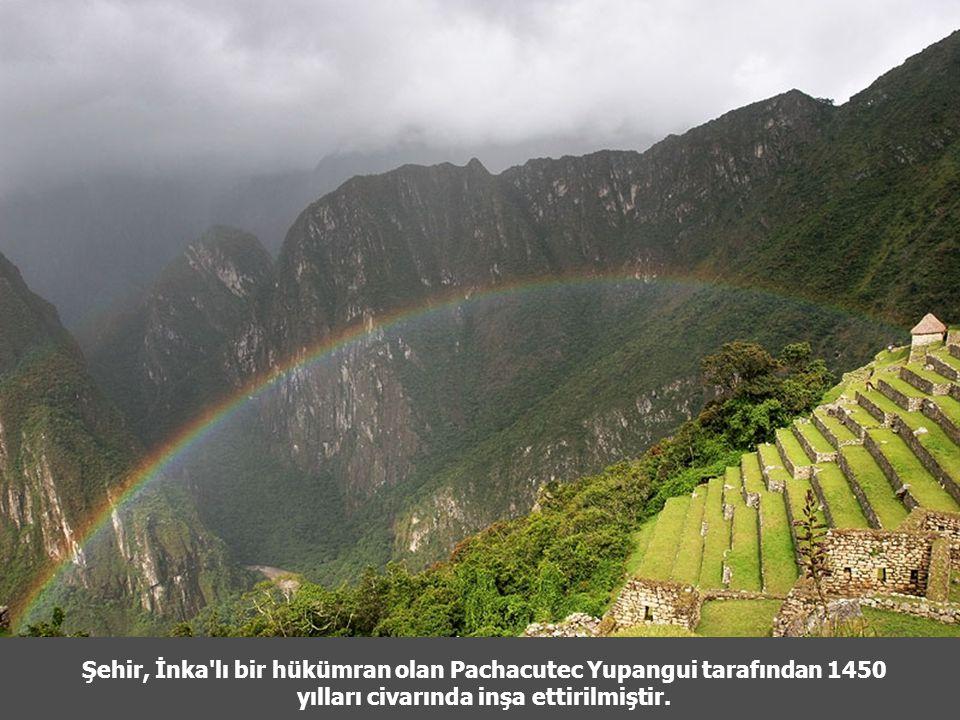 Şehir, İnka lı bir hükümran olan Pachacutec Yupangui tarafından 1450 yılları civarında inşa ettirilmiştir.
