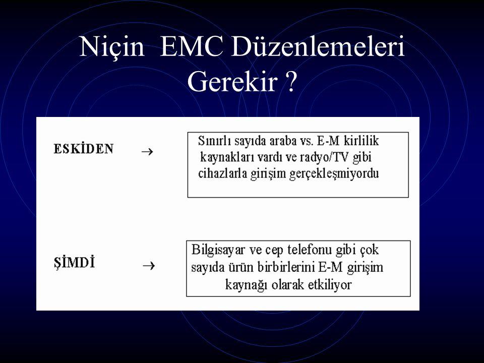 Niçin EMC Düzenlemeleri Gerekir ?
