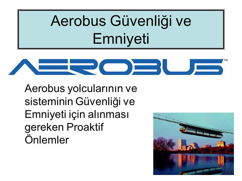 Aerobus Sisteminin Ba ğ ımsız Güvenli ğ i Aerobus toplu taşıma sistemi, güvenliği bağımsız bir yolcu taşıma sistemidir.