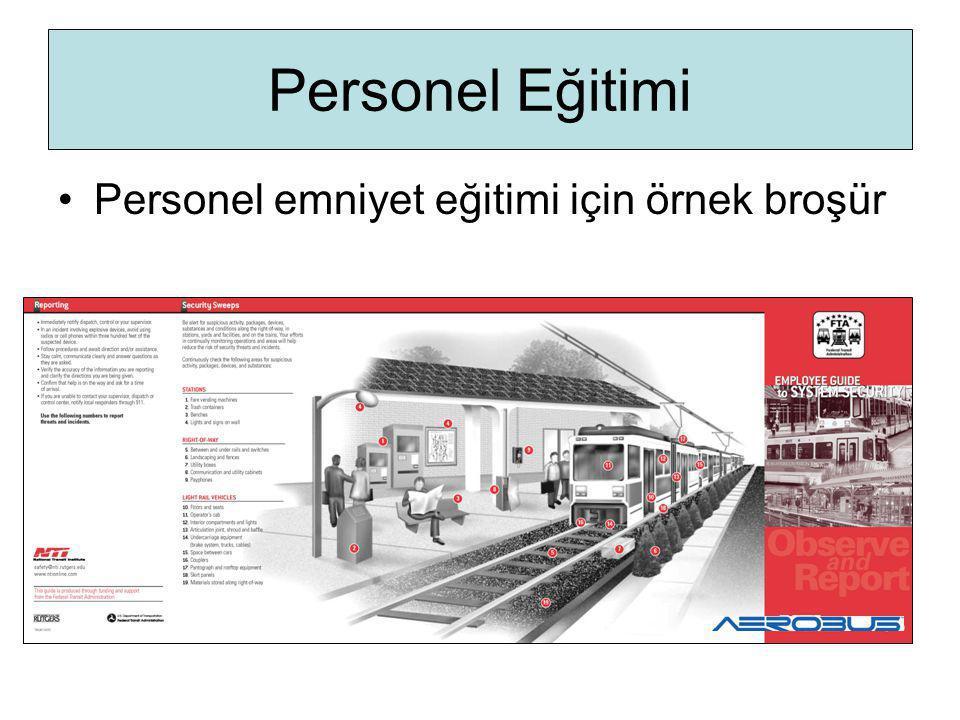Personel Eğitimi Personel emniyet eğitimi için örnek broşür