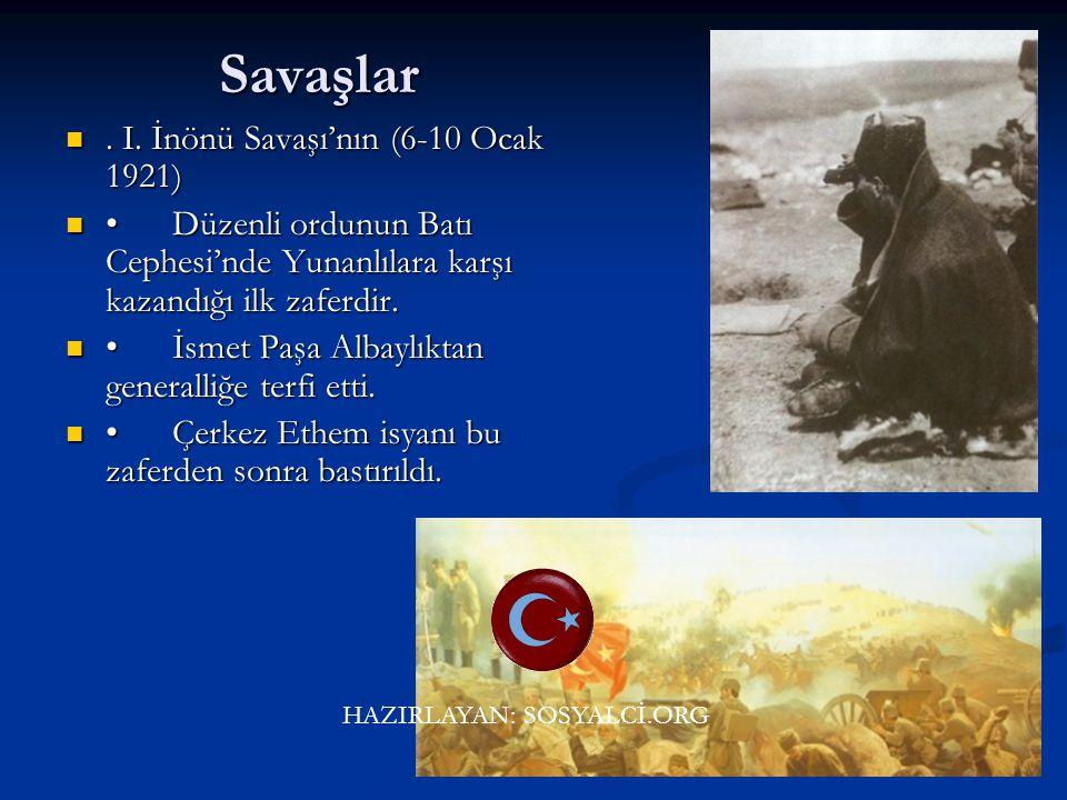 Türk halkı bağımsızlığı için büyük bir savaş verdi. Türk halkı bağımsızlığı için büyük bir savaş verdi. HAZIRLAYAN: SOSYALCİ.ORG